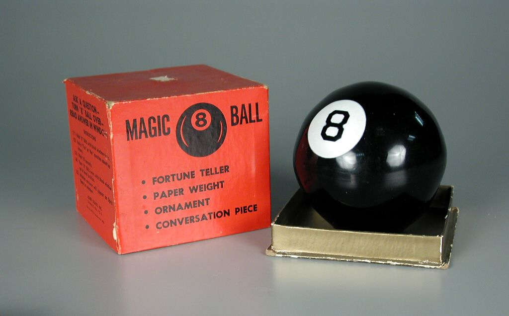 magic 8 original ball from the 50s