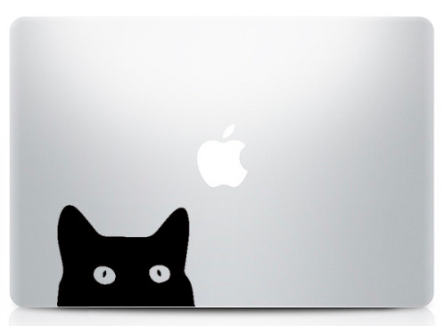 macbook-decoration-cat-sticker