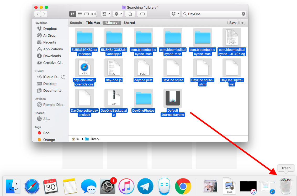 how to uninstall apps from mac without leftovers