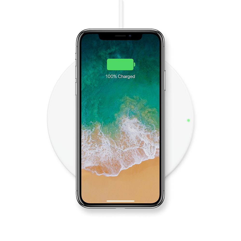 wireless charging pad cool gift idea for apple fans