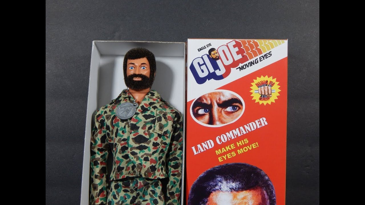 Joes G.I. action figure from the 70s