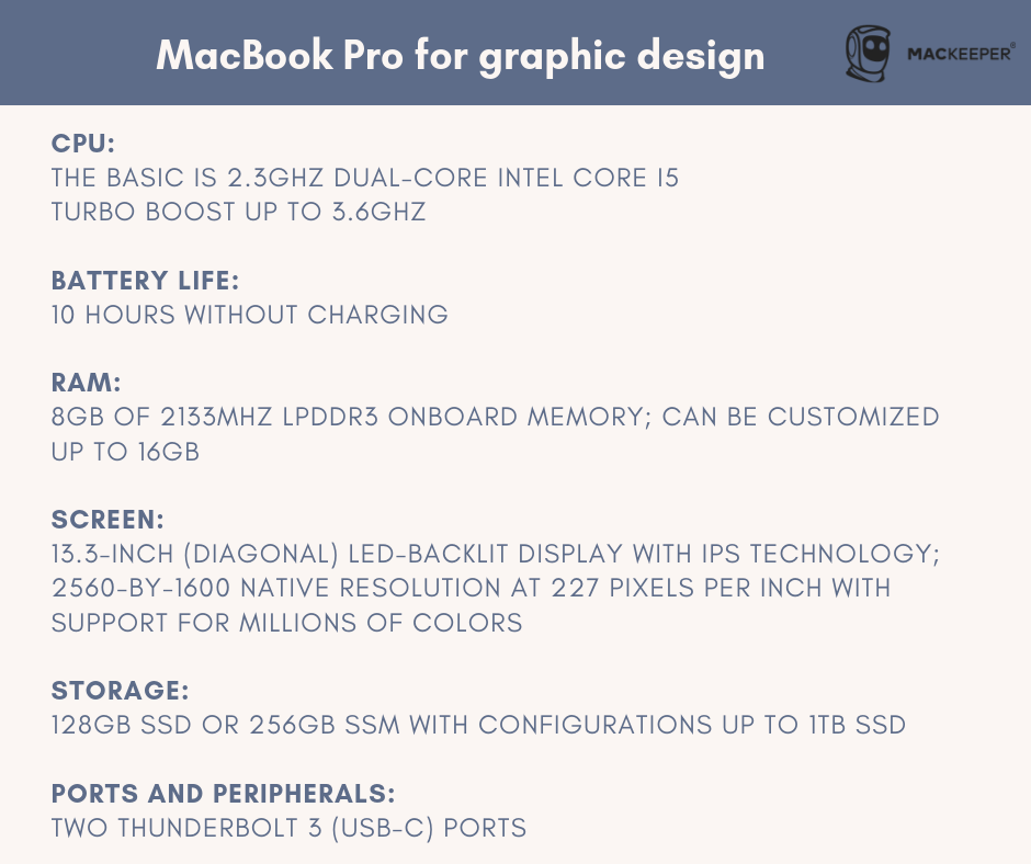 the best computer for graphic design macbook pro