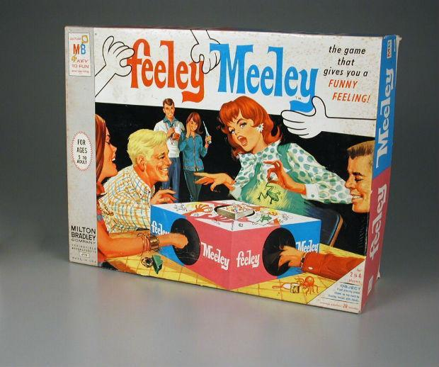 feeley meeley board game from the 60s
