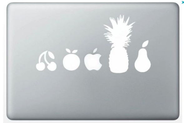 macbook-decoration-fruit-collection