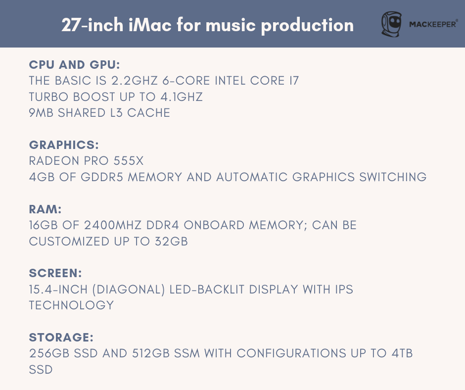 which mac to buy for music production mackeeper