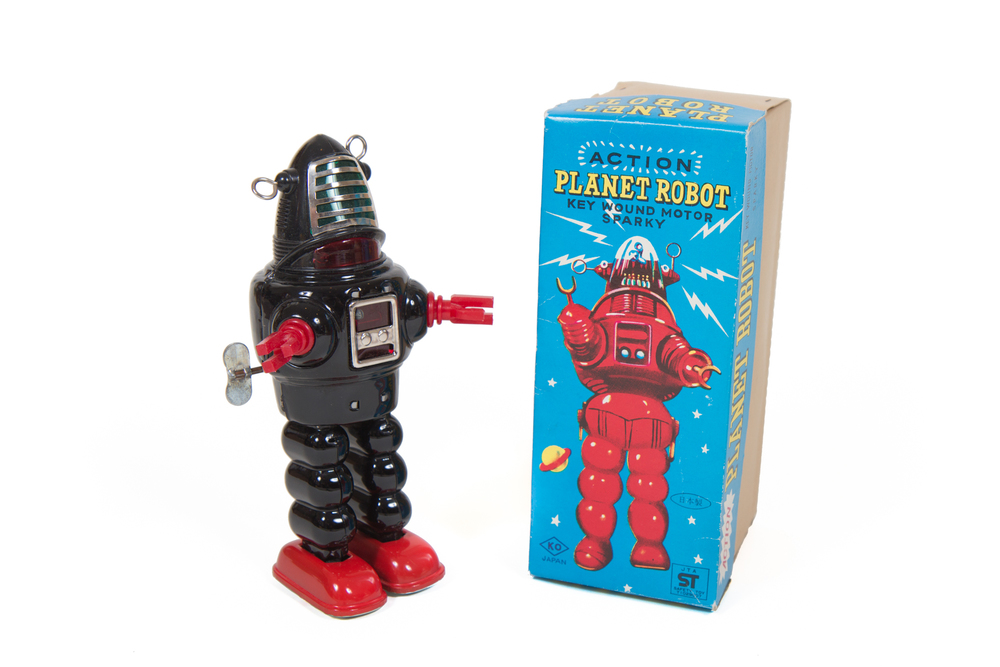 robby the robot toy from the 60s