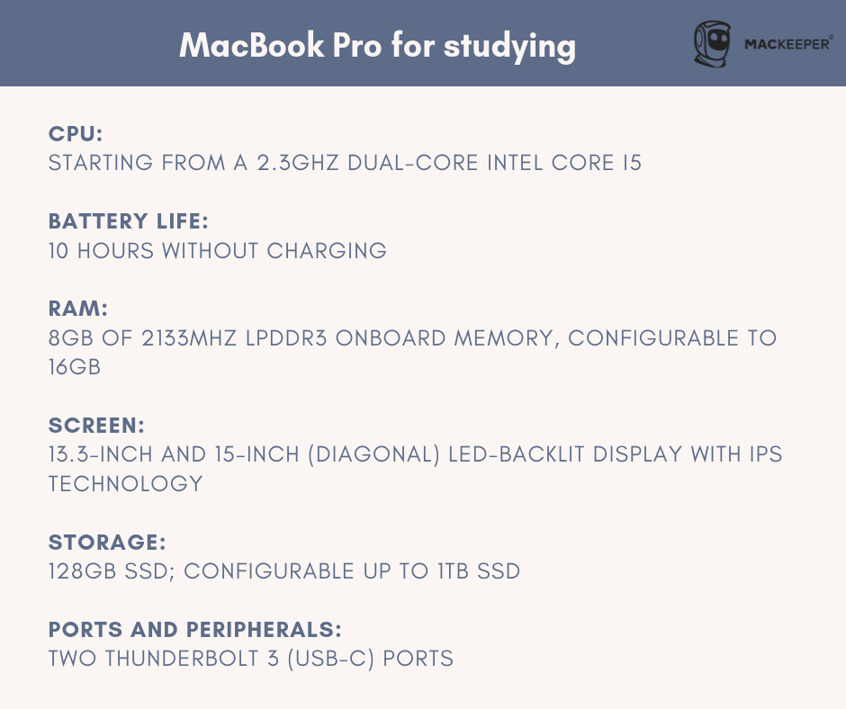 which macbook is best for college student macbook pro mackeeper