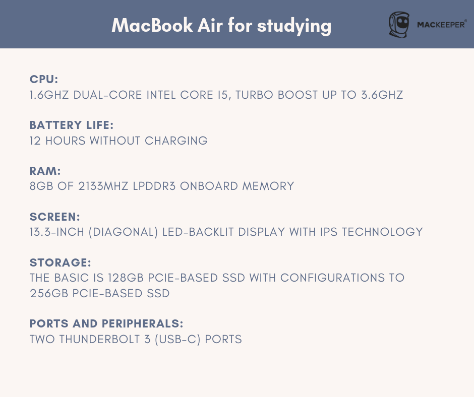 which macbook is best for college student macbook air mackeeper