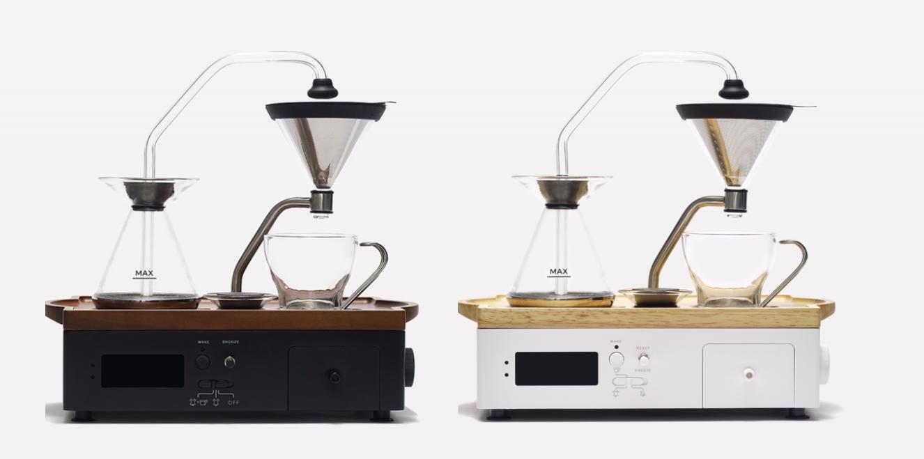 coffee and tea alarm clock