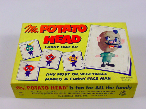potato head toy from the 50s