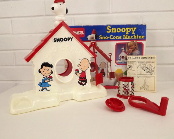 snoopy snow cone toy