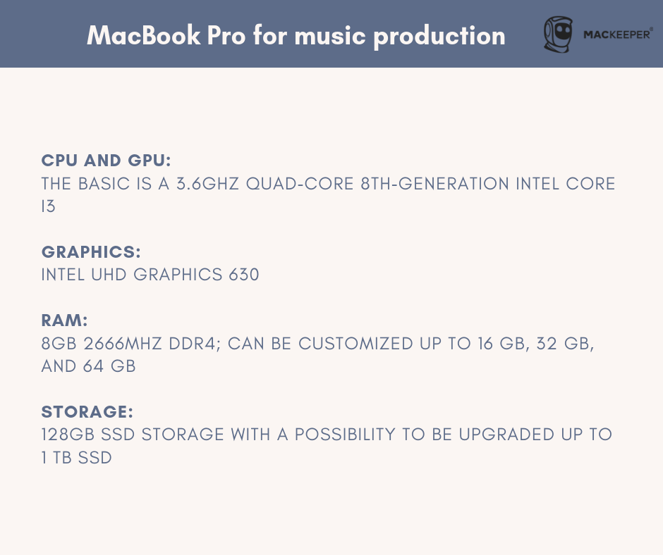 which mac is better for music production