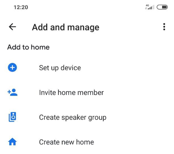 Setting up Chromecast as a new device using Google Home app