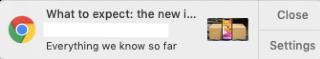 example of chrome push notification