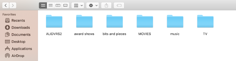 external drive on mac