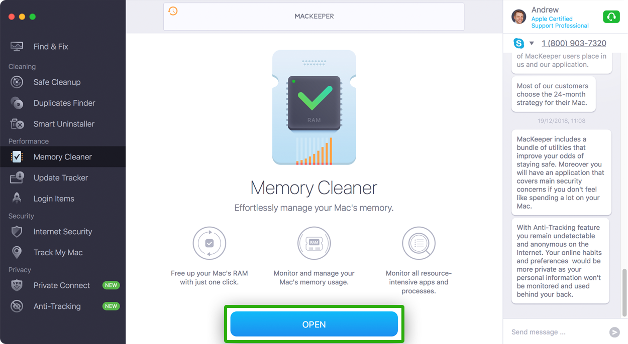 Mac Memory Cleaner Mackeeper