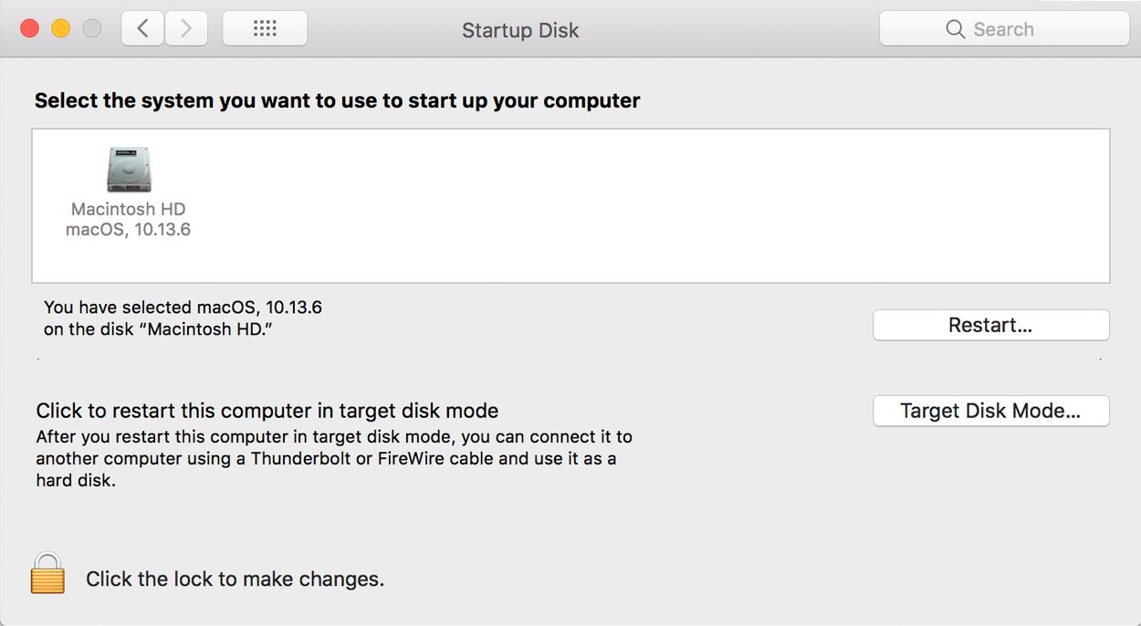 Startup Disk Full Error